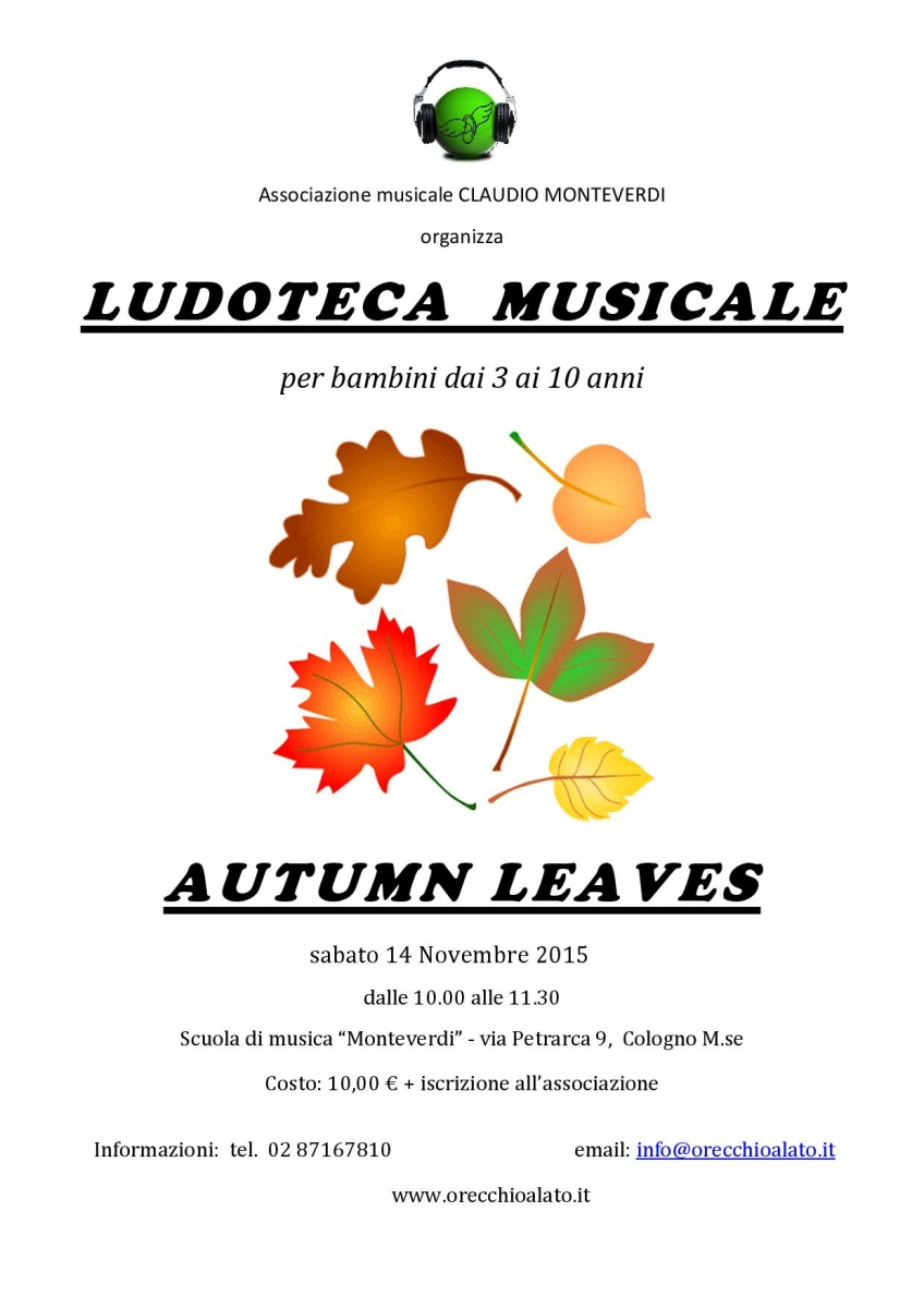 LOCANDINA Autumn leaves - 14 nov 2015-001