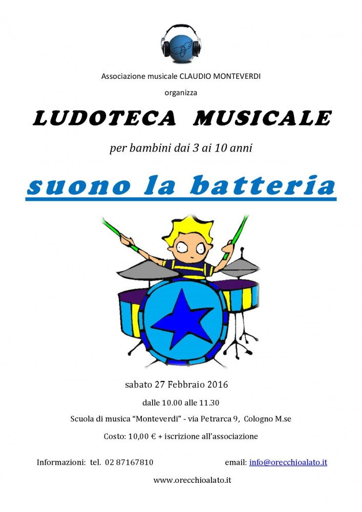 LOCANDINA la batteria - 27 feb 2016-001