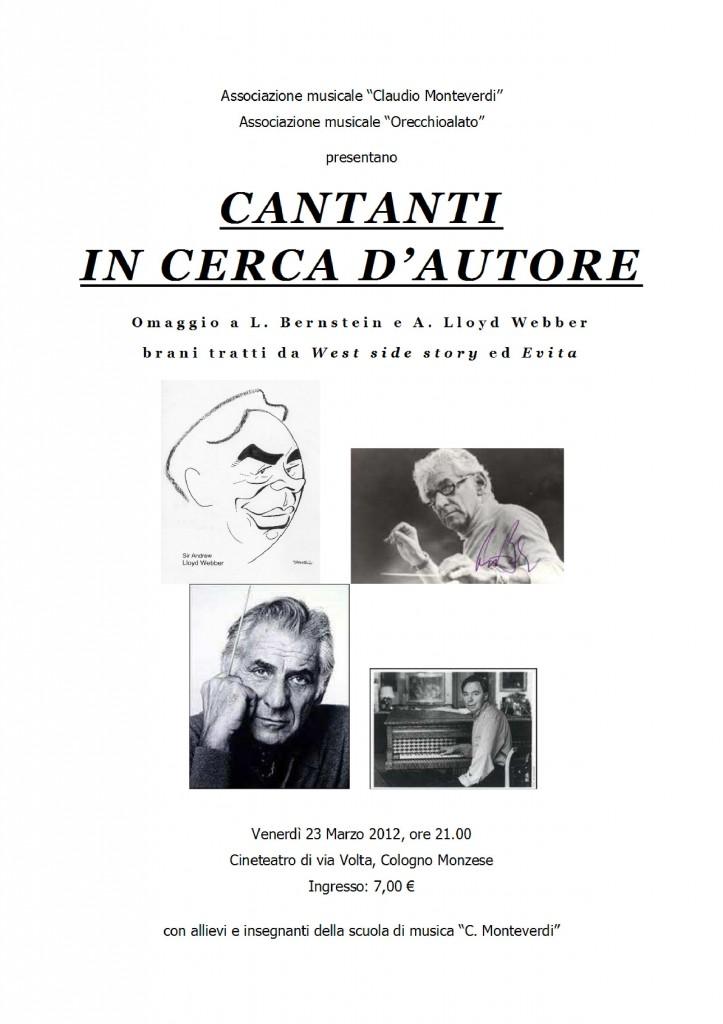 locandina CANTANTI IN CERCA DI AUTORE 23 mar 2012 - locandinaCANTANTI_IN_CERCA_AUTORE
