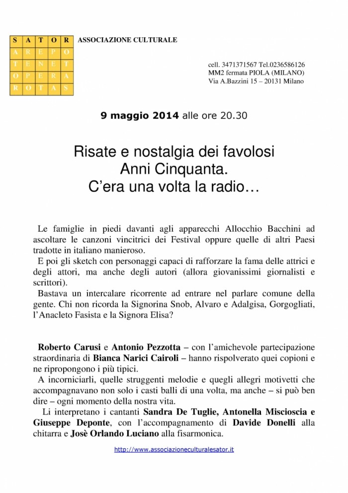 Locandina Radio-1