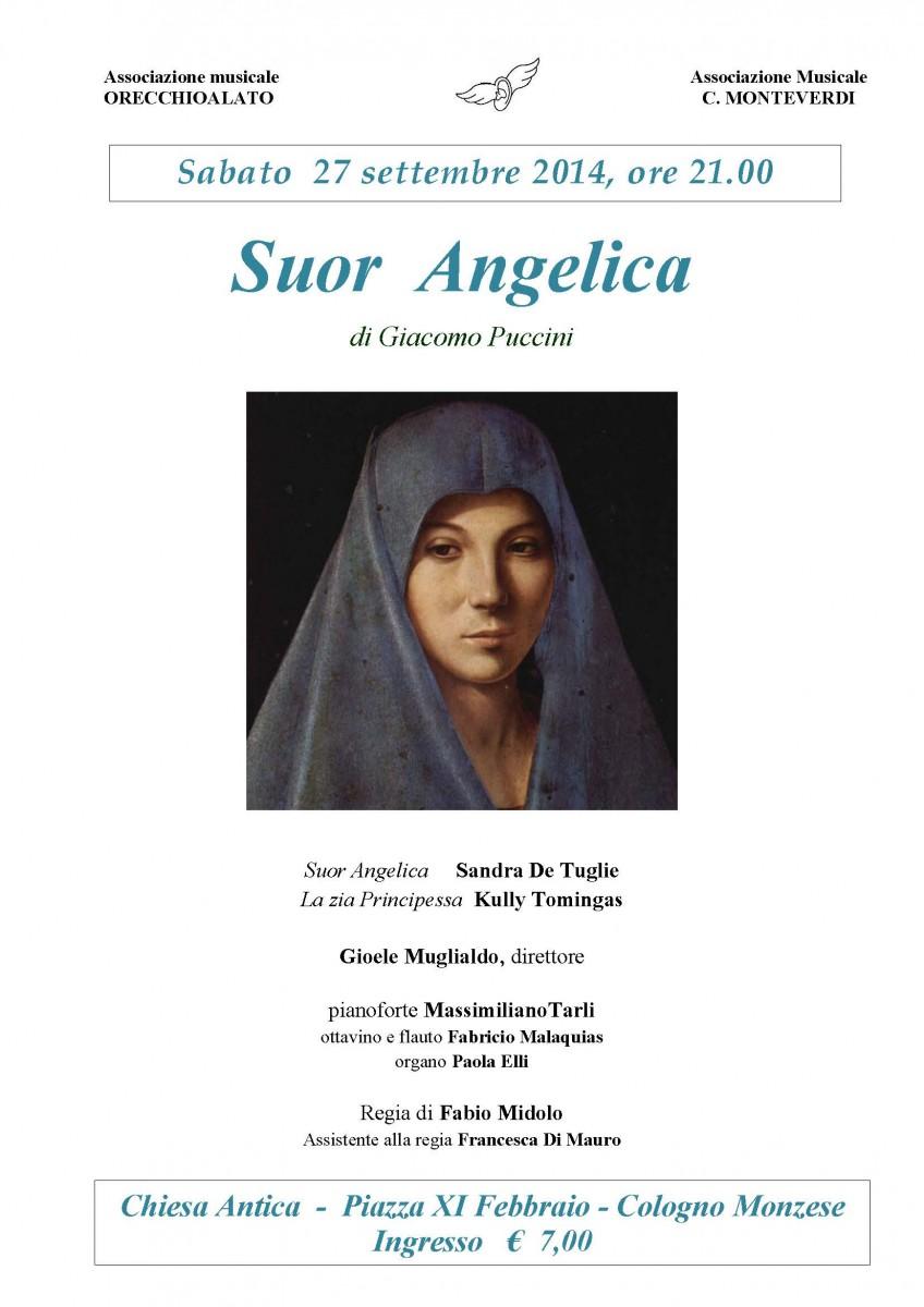 locandina SUOR ANGELICA 27 settembre 2014 Chiesa Antica