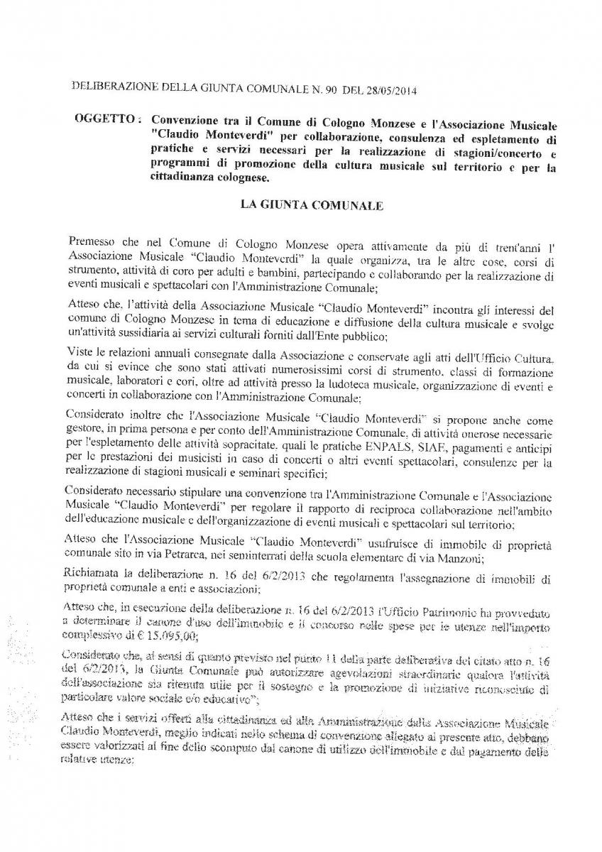 delibera giunta su convenzione GC_90_2014 - 2