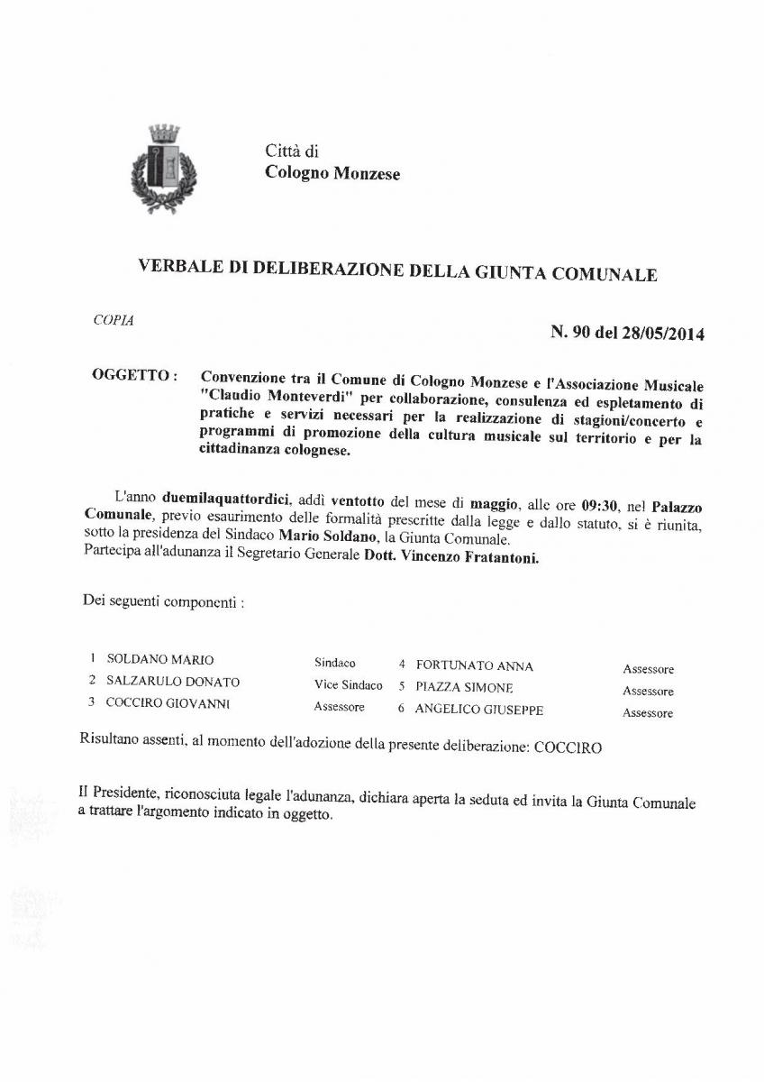 delibera giunta su convenzione GC_90_2014