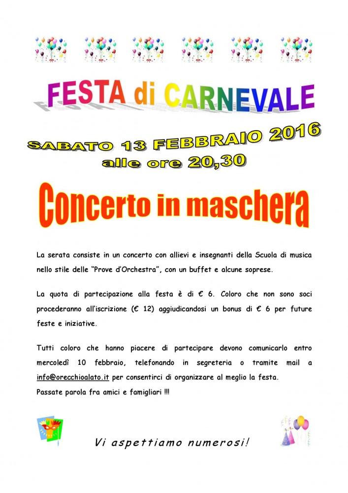 locandina FESTA DI CARNEVALE 2016-001